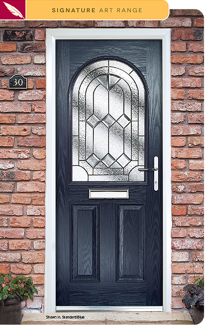Simplicity composite door glass